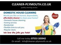 CLEANING COMPANY,CLEANER-PLYMOUTH,DOMESTIC CLEANING, OFFICE CLEANING...