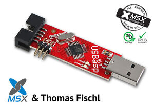 Official-product-USBasp-programmer-red