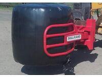 Bale Grab, Bale stacker to suit tractor loader, teleporter (Sullivans Engineering)