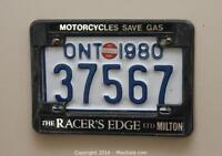 Bike Plate and cover