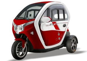 RED Platinum Electric Sport Tricycle  (60V 50AH1500W)