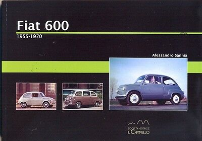 Fiat 600 & Multipla 1955-1970 - great history book
