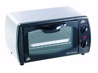 Team OT9M 9 Litre 1000 Watt Electric Mini Oven in Brushed Stainless Steel........Brand New