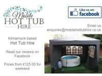Inflatable hot tub hire