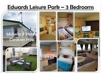 Towyn Edwards Leisure Park - 3 Bedroom Platinum Caravan EDWMHE/609