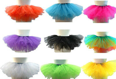 Tütü Tutu Ballettrock Junggesellenabschied  Petticoat Tüll Rock mini Karneval