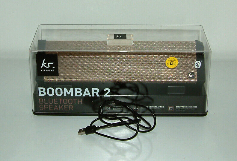 KITSOUND BOOMBAR 2 BLUETOOTH SPEAKER