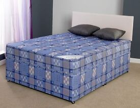 **7-DAY MONEY BACK GUARANTEE!**- Double/Small Double Light Quilt Bed and Mattress-SAME DAY DELIVERY!