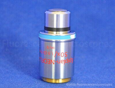 Zeiss Epiplan-neofluar 50x 1.0 0. Oil. Pol Polarizing Microscope Objective