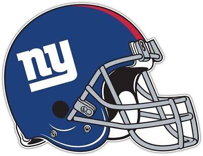 NFL Helm Sticker Aufkleber Decal - NEW YORK GIANTS HELMET - ca.12 x 9,5cm