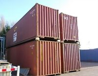 Sea Storage Containers for Sale! 20' and 40' in stock