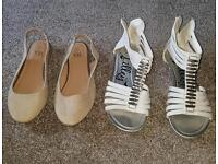 Two pairs of shoes size 1