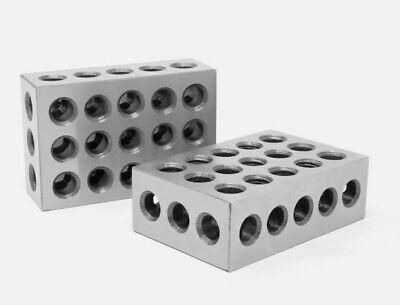 Wen 10423 3 X 2 X 1-inch Steel-hardened Precision 123 Blocks Two Pack