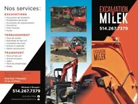 EXCAVATION MILEK SOUMISSION GRATUITE