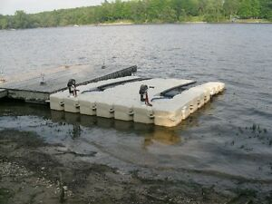 Double watercraft dock for sale