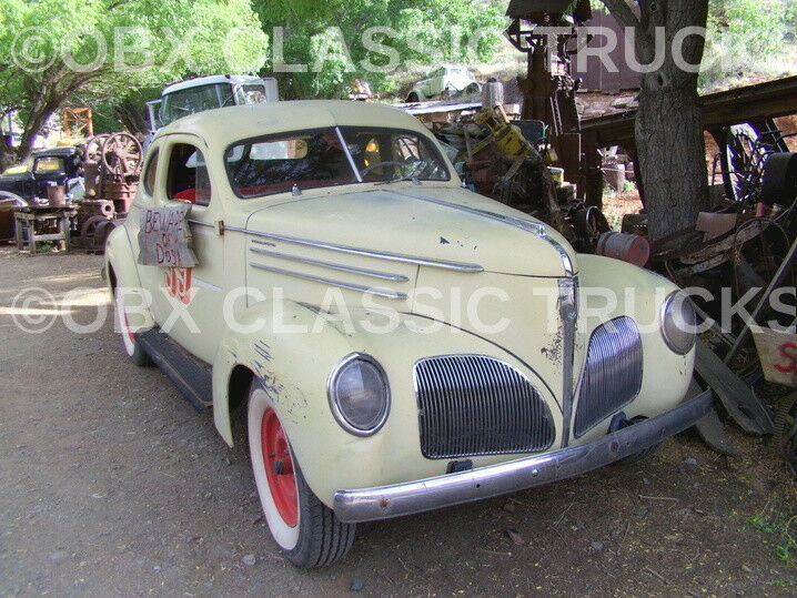 8x10 Photo: Rare & Vintage Muscle 1939 Studebaker Commander Coupe in Arizona!