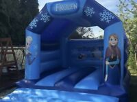 Frozen bouncy castle 12ft x 15ft with blower, lead and pegs
