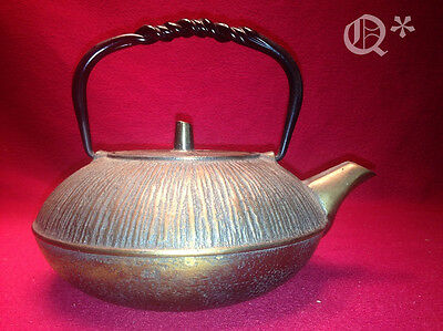 Bronze Cast Iron Teapot with Infuser 975ml  Japanese