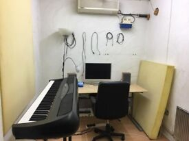 Music practice room / production studio to share, perfect for producers, teaching, writing