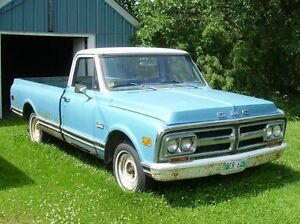 1971 GMC 1500 Custom pickup Truck restoration project