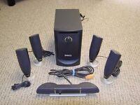 Dell 5650 100 watt 6 Piece 5.1 PC Speaker Set