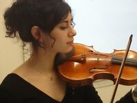 Violin lessons in East London, with a professional musician