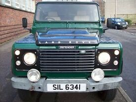 land rover 110 2.5 pick up