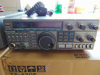 Kenwood TS-430S + PS430 FM and Optional filters