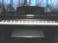 GEM DIGITAL PIANO KEYBOARD EBONY