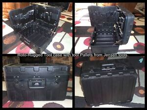 Roto-Rugged Tool case with tool Pallets from Jensen tools.
