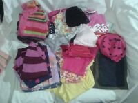 Bundle Girls clothes 6 - 12 months