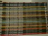 The walking dead comics volumes 1-23
