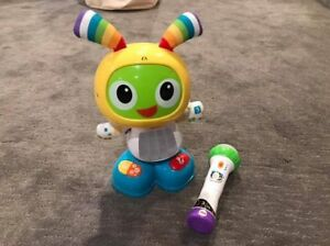 Fisher Price Beat Bot and Microphone