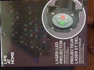 Laser led in/outdoor projector