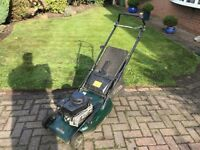 HAYTER HAWK 41 PETROL LAWNMOWER MOWER WITH REAR ROLLER