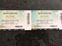 Phil Collins Tickets x4 £110 each