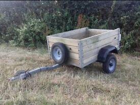 Box trailer (car trailer for camping etc)