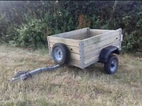 Box trailer (car trailer for camping etc)