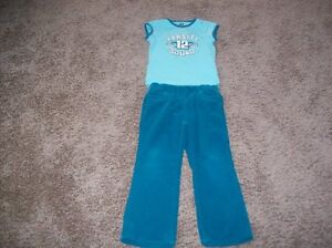 Girls Cords And T-Shirt Size 5
