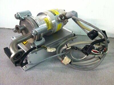 Balzers-pfeiffer Tmh 064 Dn 63 Iso Turbomolecular Turbo Pump Extra Cords
