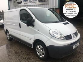 2014 63 RENAULT TRAFIC SWB 115BHP 6 SPEED ELEC PACK VERY CLEAN *CHOICE OF* DIES