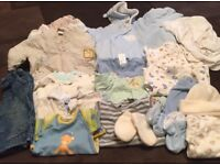 Bundle of Clothes - Baby Boy 0-6 months