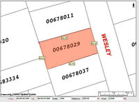 160-162 WESLEY ST, MONCTON! VACANT LOT $22,000!