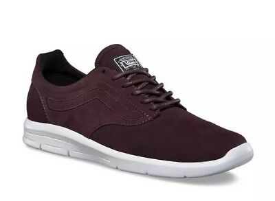 fd442629bd New VANS Mens 3.5 Womens 5 ISO 1.5 Suede Iron Brown True White Athletic  Sneakers