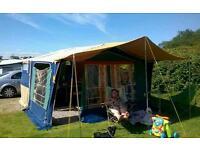 Raclet quickstop trailer tent