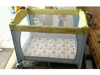 Mothercare Pop-up Travel Cot