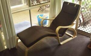 ikea poang chaise lounge chair Rochedale South Brisbane South East Preview