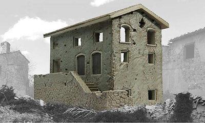 Airfix A75013 1/76 Resin Model of a Ruined Italian Farm House