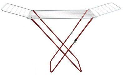 Tendedero de metal plegable extra fuerte fácil de usar