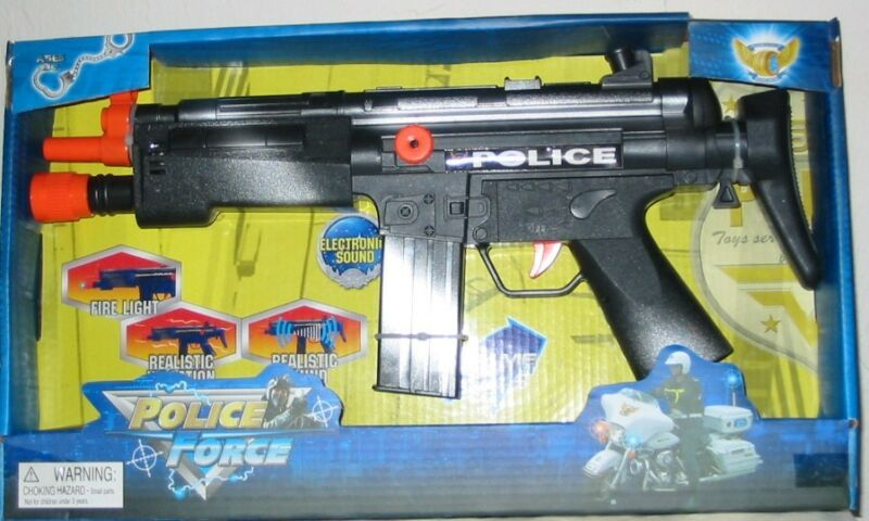 Police Force Electronic Toy Pistol